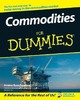 Thumbnail Commodities For Dummies
