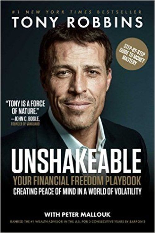 Product picture Unshakeable: Your Financial Freedom Playbook by Tony Robbins