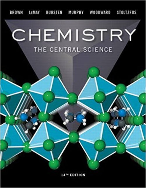 Product picture Chemistry The Central Science 14th Edition Brown
