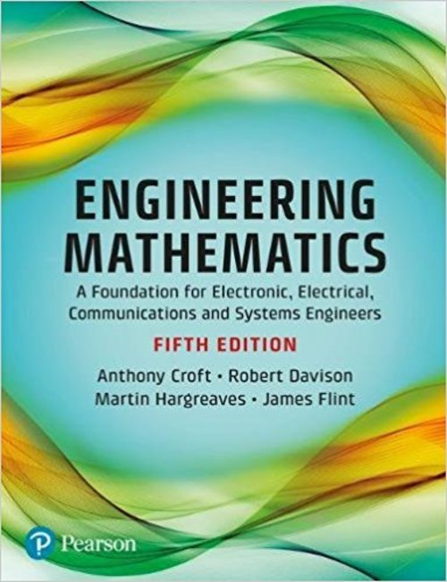 Product picture Engineering Mathematics 5th Edition Croft, Davison 2017